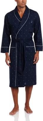 Nautica Men's Woven J-Class Robe