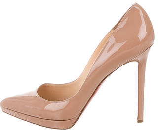 Christian Louboutin  Christian Louboutin Pigalle Plato 120 Pumps