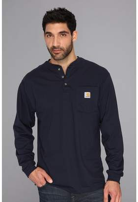 Carhartt Workwear Pocket L/S Henley Men's Long Sleeve Pullover