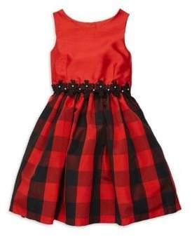 Buffalo David Bitton Marmellata Girl's Plaid Dress