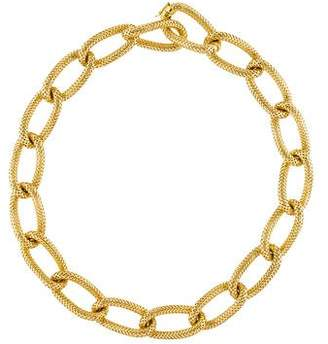 Roberto Coin Chain-Link Collar Necklace