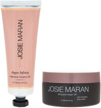 Josie Maran Whipped Argan Body Butter & Infinity Cream Duo