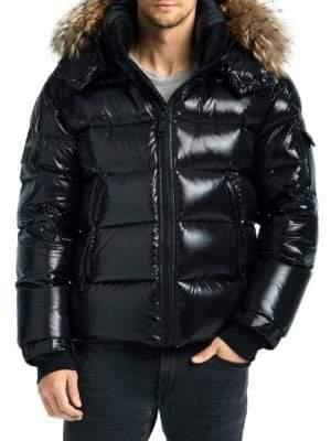 SAM. Fur Trim Artic Puffer Jacket