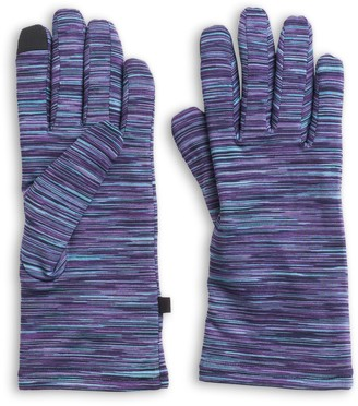 Cuddl Duds Women's Space Dyed Flex Fit Tech Gloves