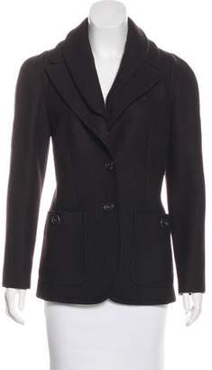 Derek Lam Structured Button-Up Blazer