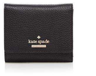 Kate Spade Jackson Street Jada Pebbled Leather Trifold Wallet
