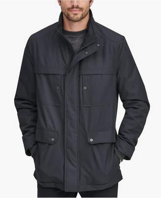 Andrew Marc Men's Rigby Bonded-Jersey Raincoat
