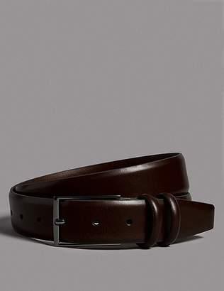 Marks and Spencer Leather Rectangular Buckle Belt
