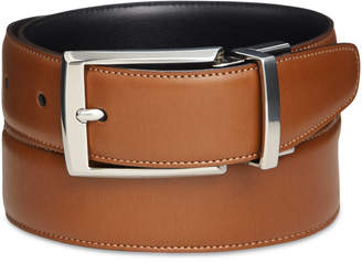 Perry Ellis Portfolio Men's Leather Big & Tall Amigo Reversible Belt