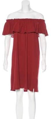 Current/Elliott Off-The-Shoulder Mini Dress w/ Tags