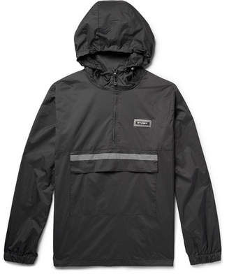 Stussy Checked Nylon-Blend Ripstop Anorak