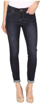 Liverpool The Crop 26/28 Rolled in Vintage Super Dark/Indigo Women's Jeans