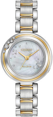 Citizen 28mm Carina Bracelet Watch, Two-Tone
