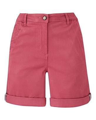 Fashion World Petite Comfort Stretch Chino Shorts