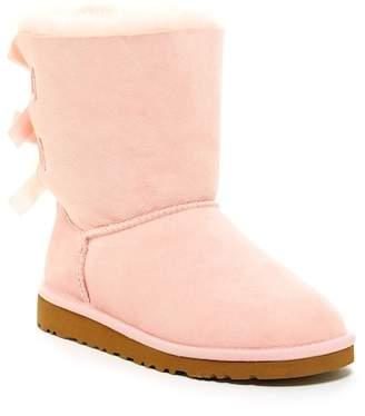 UGG Genuine Sheepskin Bailey Bow Boot (Toddler)