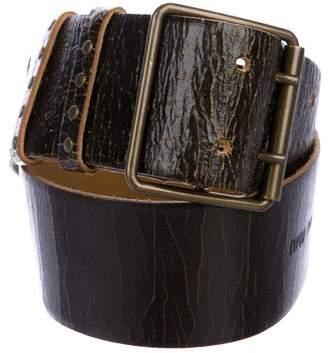 Miu Miu Leather Hip Belt
