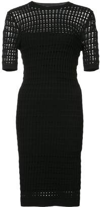 Alexander Wang laser cut dress