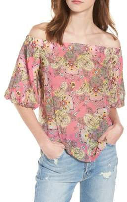 Bailey 44 Tune In Off the Shoulder Top