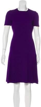 Akris Punto Knit Knee-Length Dress
