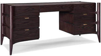 Emerson Desk - Rosewood - Brownstone Furniture