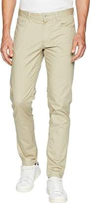 Calvin Klein Men's 5 Pocket Pant Micro Herringbone