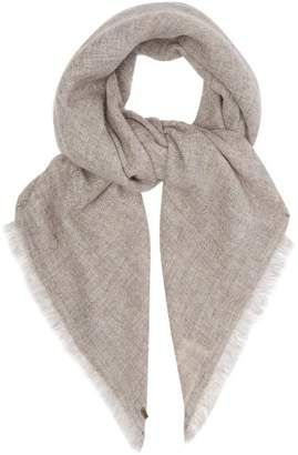From The Road - Adri Wool Blend Scarf - Mens - Grey