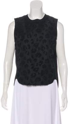 3.1 Phillip Lim Textured Sleeveless Top