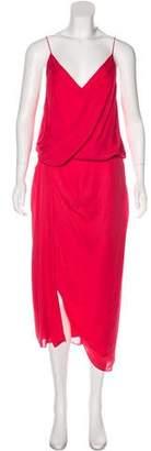 Camilla And Marc Silk Midi Dress w/ Tags