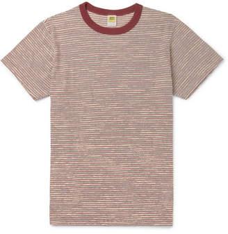 Velva Sheen Striped Cotton-Jersey T-Shirt