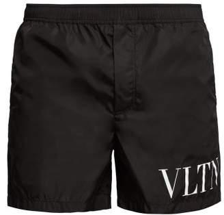Valentino Vltn Swim Shorts - Mens - Black