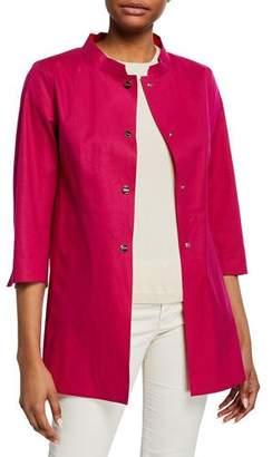 Herno Mack Reversible Mandarin-Collar Coat