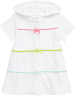 Little Me Hooded Cover-Up Dress