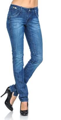 VIRGIN ONLY Women's Embellished Skinny Jeans