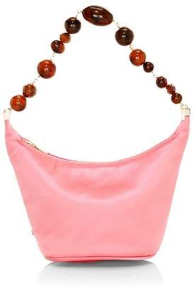 Cult Gaia Gia Satin Shoulder Bag