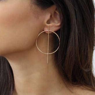 Nikita By Niki ® Small Geometric Hoop Earrings
