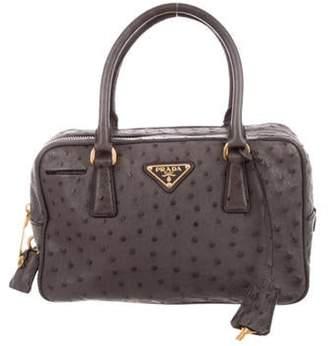 5d1fbe27d0 Prada Ostrich Bag - ShopStyle