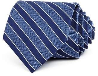 Bloomingdale's The Men's Store at Seasonal Stripe Silk Classic Tie - 100% Exclusive