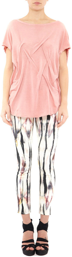 Nicole Miller Audrey On Clouds Cropped Pant