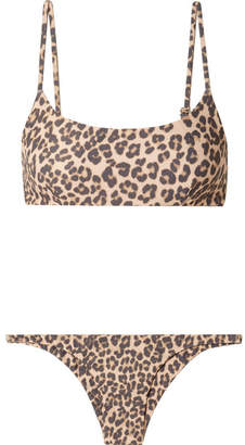 Faithfull The Brand Lara And Luna Leopard-print Bikini - Leopard print