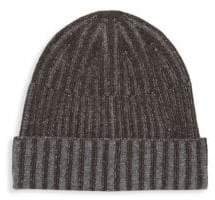 Saks Fifth Avenue Two-Tone Cashmere Beanie