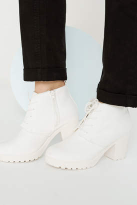 Ardene Track Heel Ankle Boots