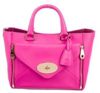 Mulberry Leather Willow Tote $895 thestylecure.com