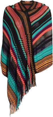 Missoni Usa Multicolor Poncho