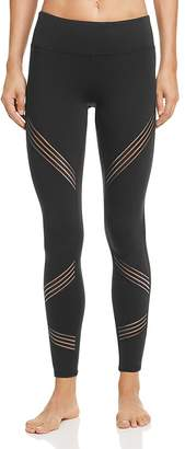 Alo Yoga Sheer-Inset Leggings $120 thestylecure.com