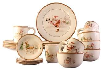 The Holiday Aisle Christmas Twig 20 Piece Dinnerware Set, Service for 4