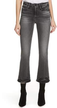 Frame Le Crop High Waist Mini Bootcut Jeans