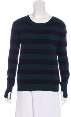 Pam & Gela Striped Wool-Blend Sweater