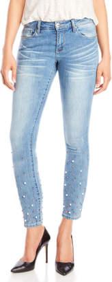 Nanette Lepore Nanette Pearl Wash Hamilton Skinny Jeans
