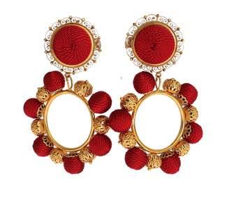 Dolce & Gabbana Gold Metal Earrings