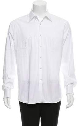 Prada French Cuff Button-Up Shirt